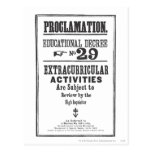 Proclamación 29 postales