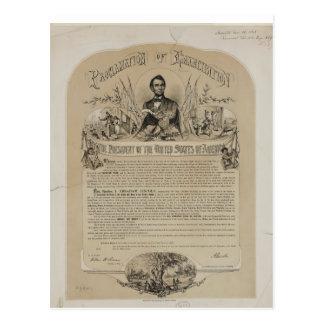 Proclamación B B Russell y Co (1868) de la Tarjetas Postales