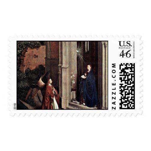 Proclamación de Eyck enero Van (la mejor calidad) Sellos