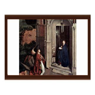 Proclamación de Eyck enero Van (la mejor calidad) Tarjeta Postal