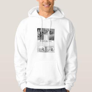 Proclamación de la emancipación suéter con capucha