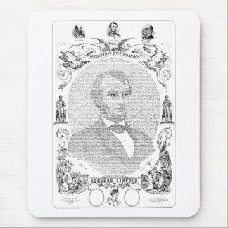 Proclamación de The Emancipation Alfombrilla De Ratón