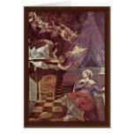 Proclamación de Tintoretto Jacopo (la mejor calida Tarjetas