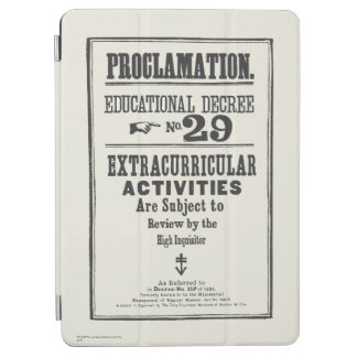Proclamation 29 iPad air cover