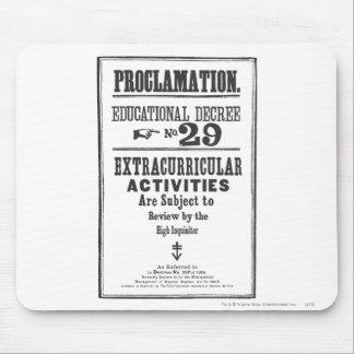 Proclamation 29 mousepad