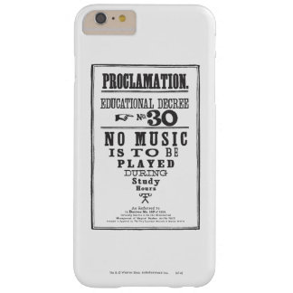 Proclamation 30 barely there iPhone 6 plus case