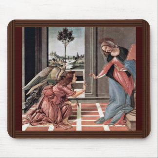 Proclamation By Botticelli Sandro Best Quality Mousepad