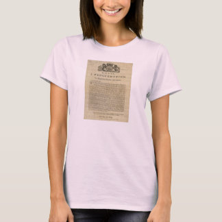 Proclamation by the King for Suppressing Rebellion T-Shirt