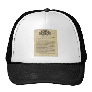 Proclamation by the King for Suppressing Rebellion Trucker Hat