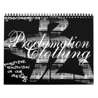 Proclamation Calender Calendar