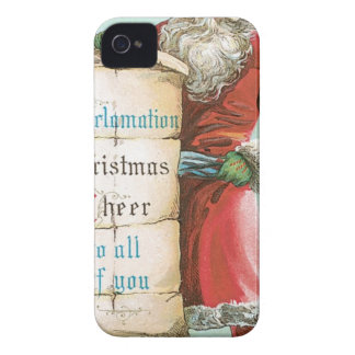 Proclamation Christmas Cheer to all of you iPhone 4 Covers