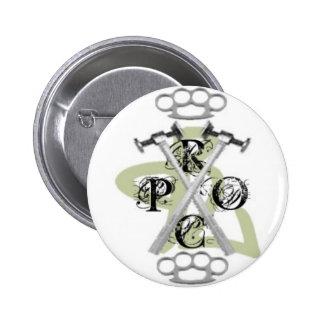 Proclamation hardcore Pin