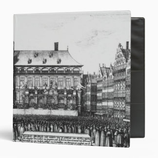 Proclamation of the peace 3 ring binder