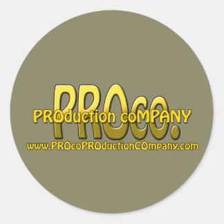 PROco Stickers! Classic Round Sticker