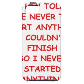 procrastinate iPhone SE/5/5s case