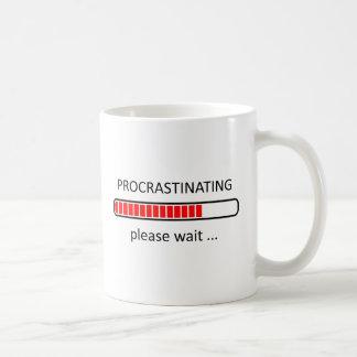 Procrastinating Please Wait - Lazy Day Mug