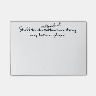 Procrastinating Teacher's Post-It Note Post-it® Notes