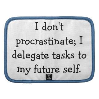Procrastination Folio Planner