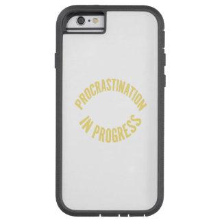 Procrastination in Progress - Customize Background iPhone 6 Case