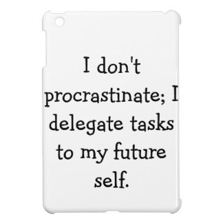 Procrastination iPad Mini Covers