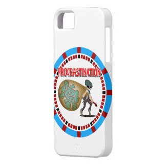 Procrastination is the Thief of Time iPhone SE/5/5s Case