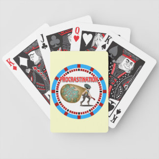 Procrastination is the Thief of Time Playing Cards
