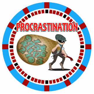 Procrastination is the Thief of Time Statuette