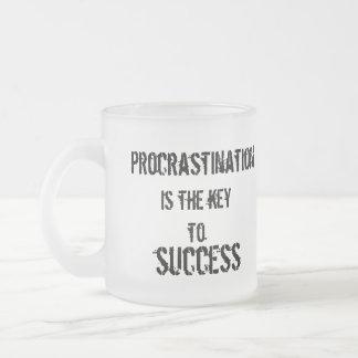 Procrastination Key to Success Mug