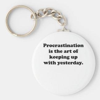 Procrastination Keychains