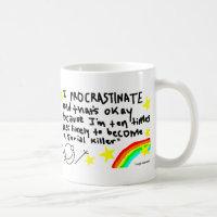 Procrastination Mug