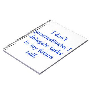 Procrastination Notebooks