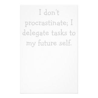 Procrastination Stationery