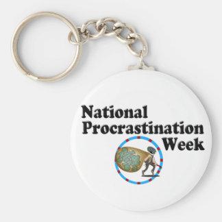 Procrastination Week Key Chains
