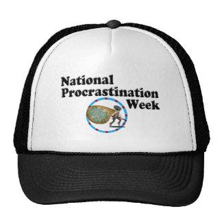 Procrastination Week Trucker Hat