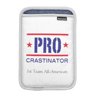 PROcrastinator_1st Team All-American_on white iPad Mini Sleeves