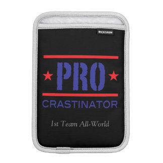 PROcrastinator_1st Team All-World_on black Sleeve For iPad Mini