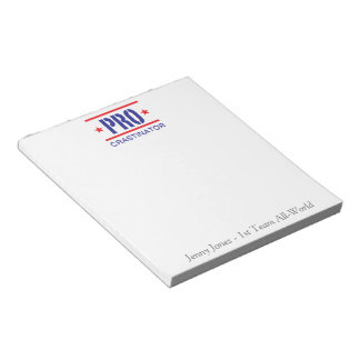 Procrastinator_1st Team All-World_personalized Notepad