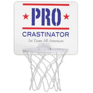 PROcrastinator_all-pro_1st Team All-American Mini Basketball Backboard