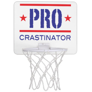 PROcrastinator_all-pro_hoops lovers Mini Basketball Backboard