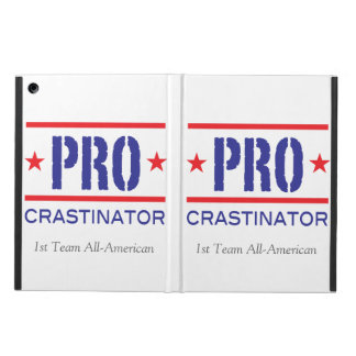 PROcrastinator_First Team All American_on white Case For iPad Air