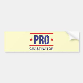 PROcrastinator_ Pegatina Para Auto