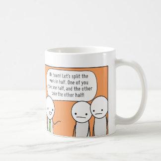 Procrastinator's Cup: The Delegator Classic White Coffee Mug