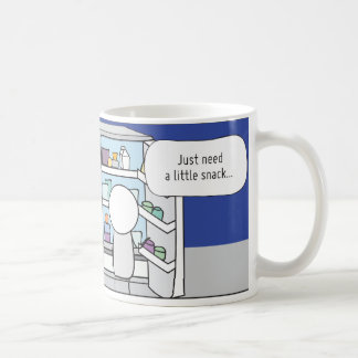 Procrastinator's Cup: The Snacker Classic White Coffee Mug