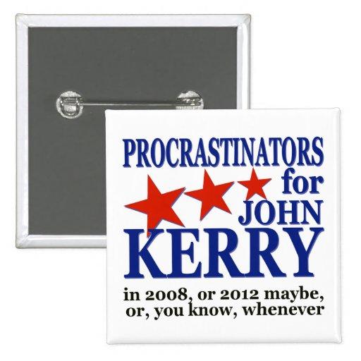Procrastinators para el humor político de John Pin Cuadrado