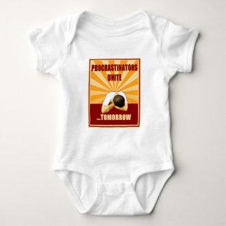 Procrastinators Unite...Tomorrow Baby Bodysuit