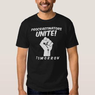 Procrastinators Unite Tomorrow Funny Student Dresses