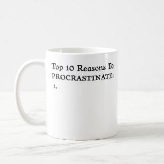 Procrastine - la taza