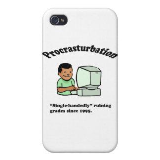 ¡Procrasturbation! iPhone 4 Fundas