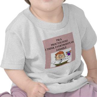 proctologist doctor physician joke t shirts