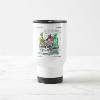 Proctologist Loses Cell Phone Funny Coffee Mug